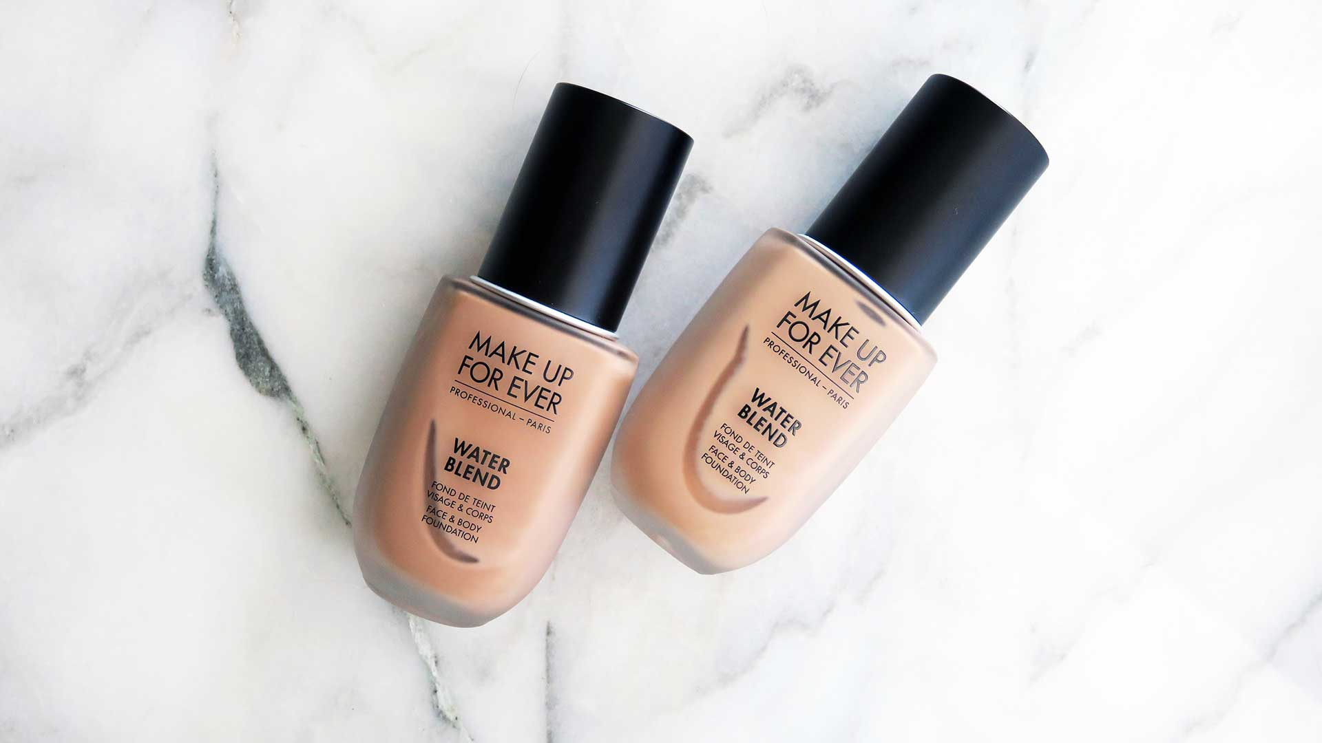 Ever Water Blend Foundation Demo Review