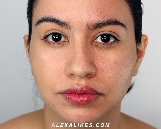 l'oreal Infallible pro matte foundation before and after